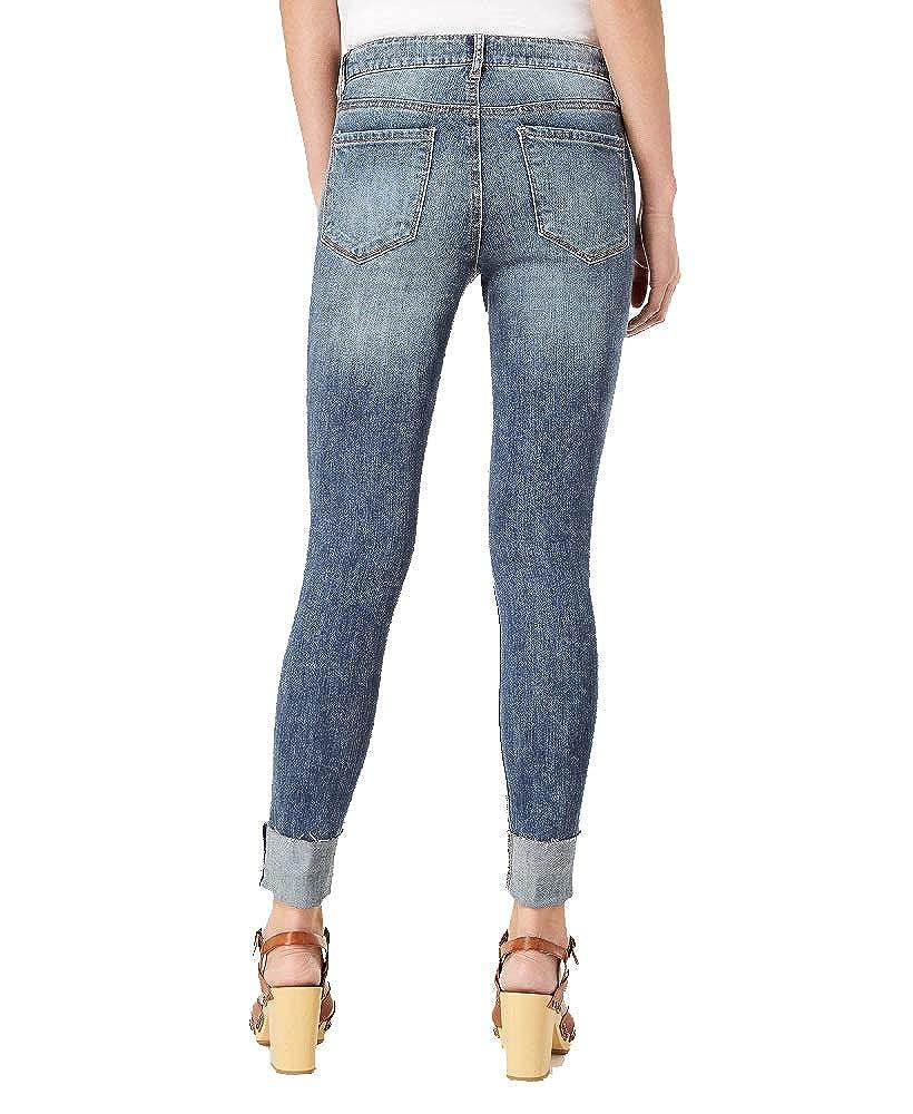 American Rag Juniors Ripped Cuffed Skinny Jeans
