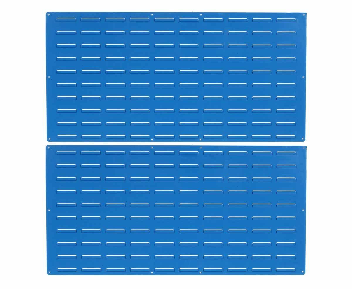 Triton Products LVP-2 LocBin Epoxy Louvered Panel, 24-Inch H x 48-Inch W, Blue