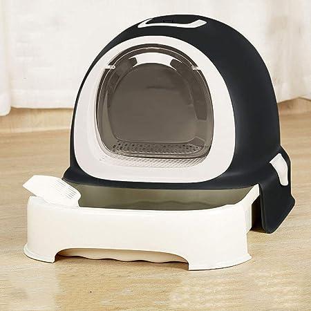Junphsion Las Cajas de Arena para Gatos de diseño, Gato higiénico ...