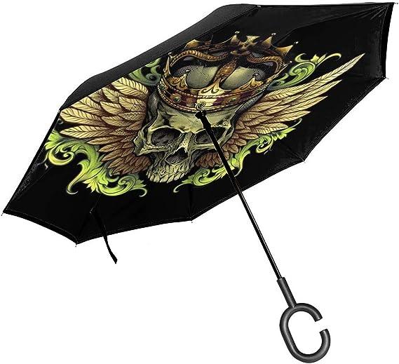 Acheter parapluie tete de mort online 21