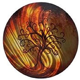 product image for Fire Tree 24 inch Round Wall Art