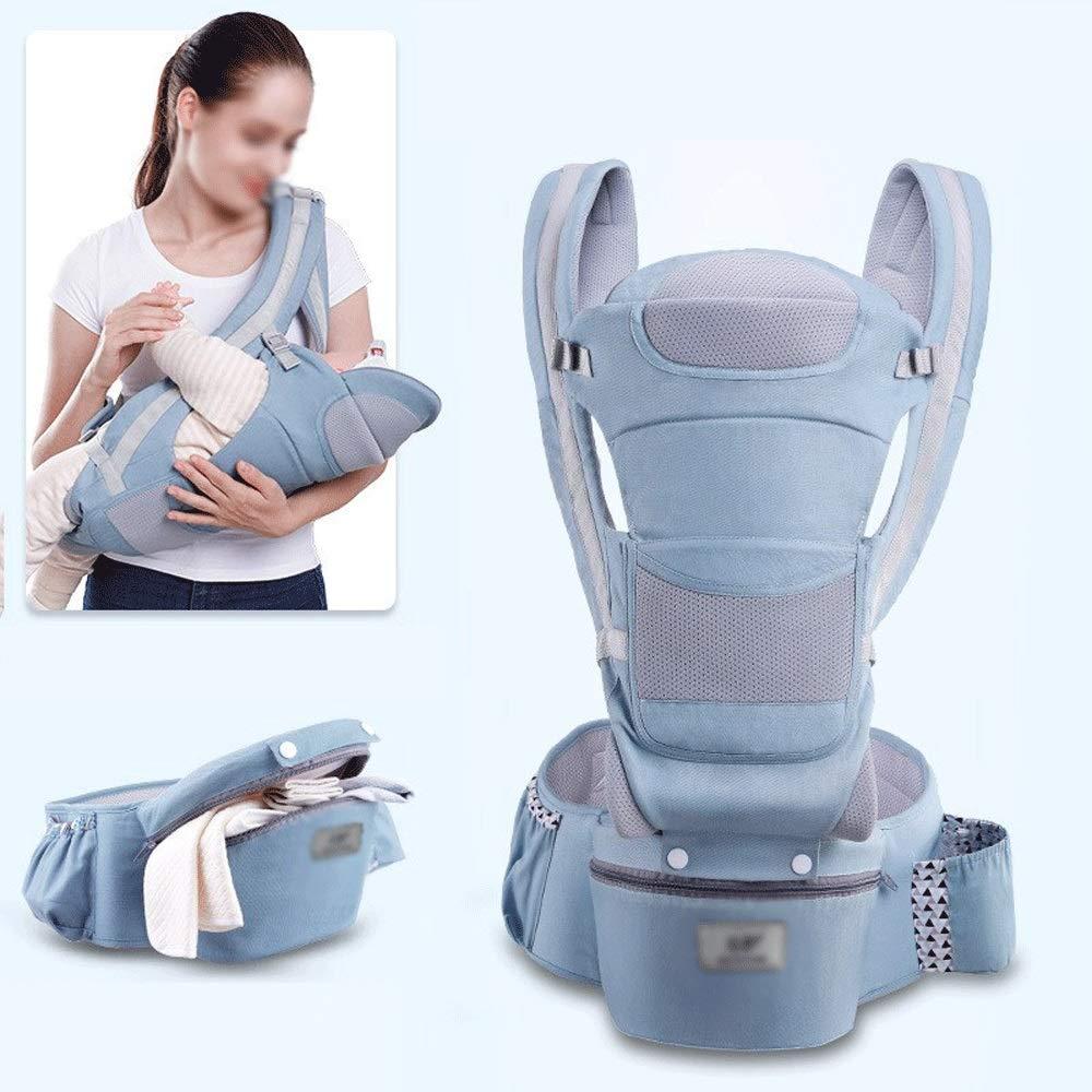 LQRYJDZ 3-in-1 Babytrage 15 zur/ück Methoden for Neugeborene 0-48 Monate verhindern Einstellbarer Infants Halter S/äuglingsrucksack Ergonomisch mit gro/ßer Kapazit/ät Aufbewahrungstasche O-Beine