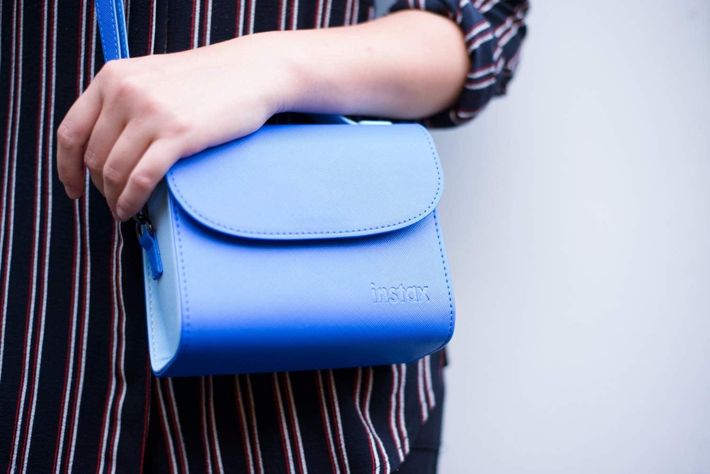 Blau Fujifilm Instax Mini 9 Tasche