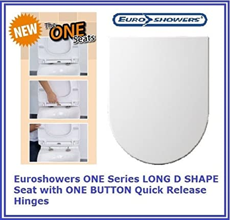large d shaped toilet seat. Infinity D Shape Soft Close Toilet Seat With Top Fix Hinges  LONG ELONGATED PROJECTION