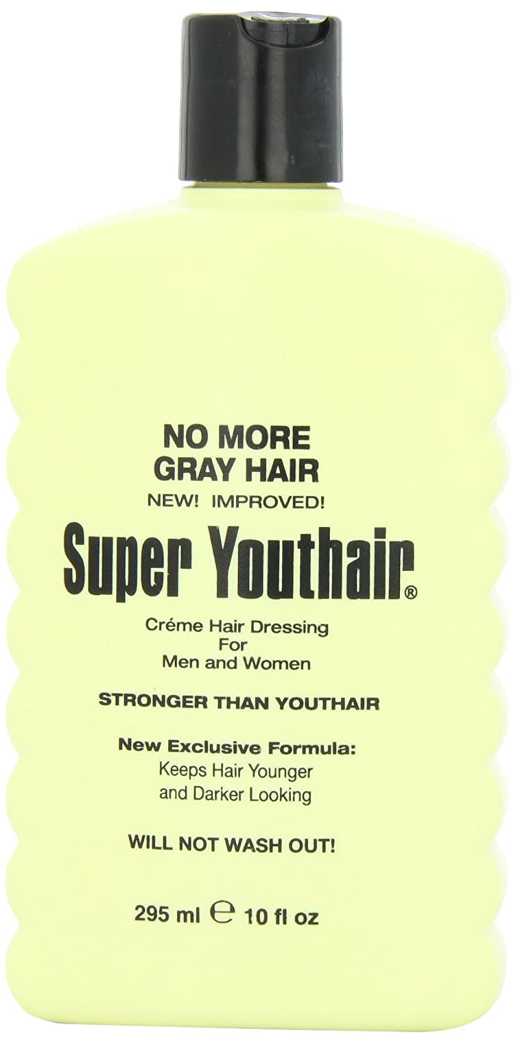 Youthair Super Creme Hair Dressing for Men and Women, 10-Ounce You-1653