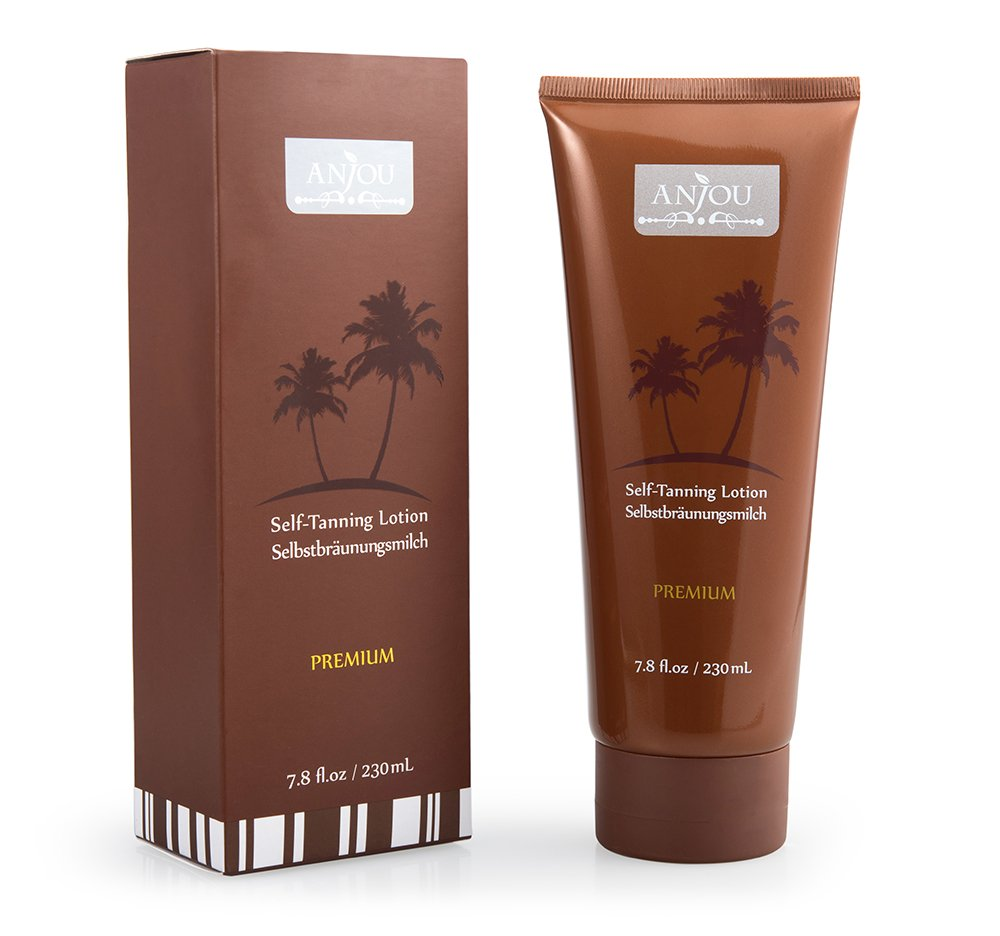 Amazon.com: Self Tanner, Anjou Organic Natural Sunless Tanning ...