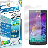 CoverON® for Samsung Galaxy Note 4 Clear Screen Protector [Slim HD Quality Transparent Protective Film LCD Cover]