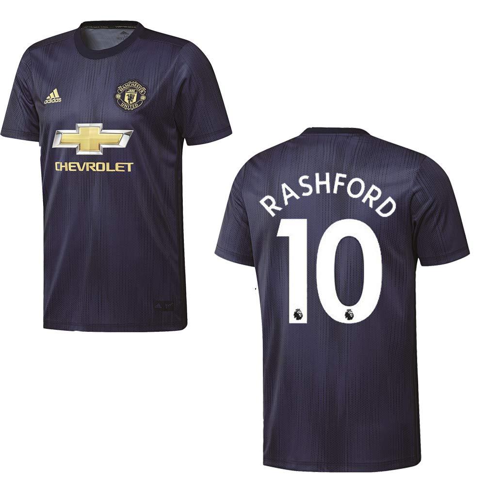 Adidas Manchester United Trikot 3rd Kinder 2018 2019 - RASHFORD 10