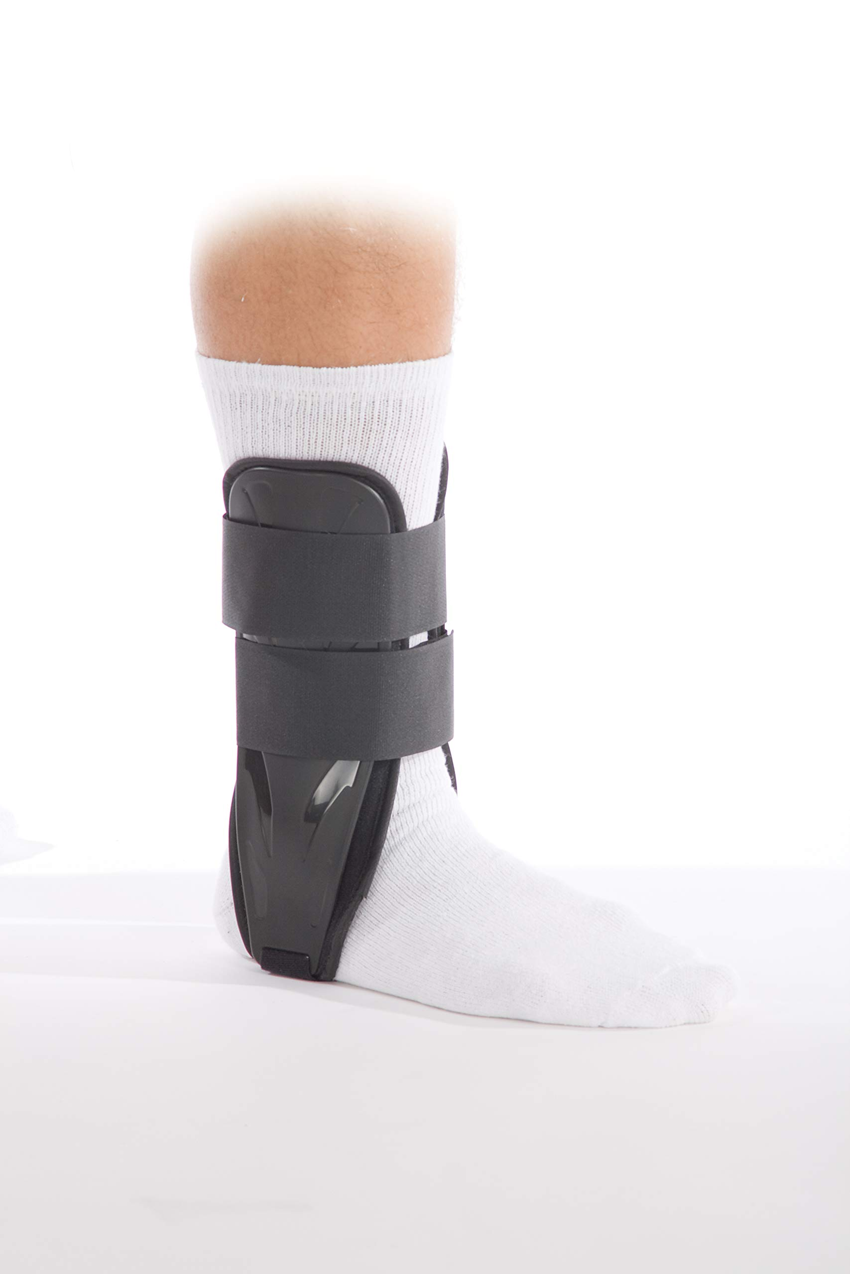 FitPro Adjustable Stirrup Ankle Splint Brace, Regular, Amazon Exclusive Brand