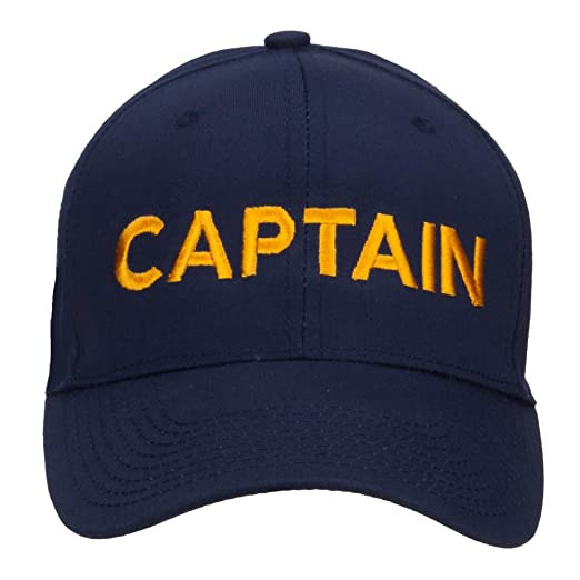17041fead15 Image Unavailable. Image not available for. Color  e4Hats.com Captain  Embroidered Cap ...