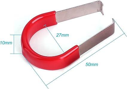 Pinzette Utensile per la rimozione del dado ruota per la rimozione di tappi con labbro Capocorda Bullone Cap Strumento Coperchio estrattore coperchio