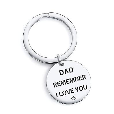 Amazon.com: Llavero inspirador para regalo del día del padre ...