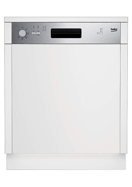 Beko DSN05310X Semi-incorporado 13cubiertos A+ lavavajilla ...