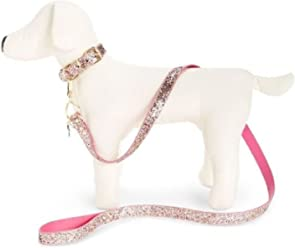 Colourful Pet Leash BETSEY JOHNSON/HASKELL JEWELS LLC Betsey Johnson Glitter Dog Leash Multi