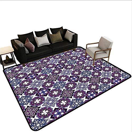 (Patchwork,Bathroom Rug Kitchen Carpet 48