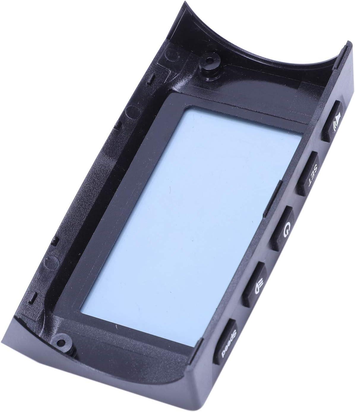 Summerwindy LCD Display Sch/ützen Shell Abdeckung mit Gas Pedal Brems Griff Led Licht Abdeckung f/ür Kugoo S1 S2 S3 Elektro Roller