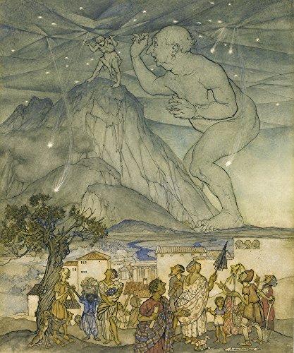 Berkin Arts Arthur Rackham Giclee Canvas Print Paintings Poster Reproduction(Untitled)