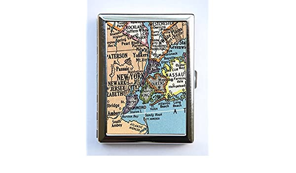 Amazon.com: New York Map Cigarette Case Wallet Business Card ... on wedding maps, social media maps, wallpaper maps, business map maker, full page maps, business cards old world, envelope maps, tract maps,
