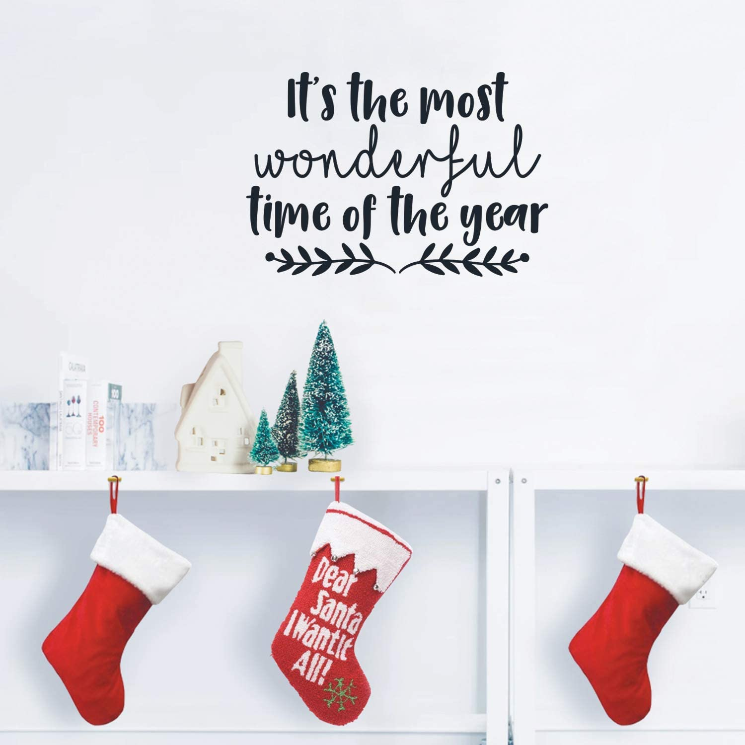 Vinyl Wall Art Decal - It's The Most Wonderful Time of The Year - 17