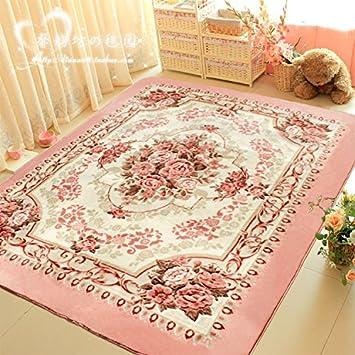Rosa Rose Garten Stil Wohnzimmer Couchtisch Teppich Matte Tatami Bett Schlafzimmer Komplett Mit Teppichboden