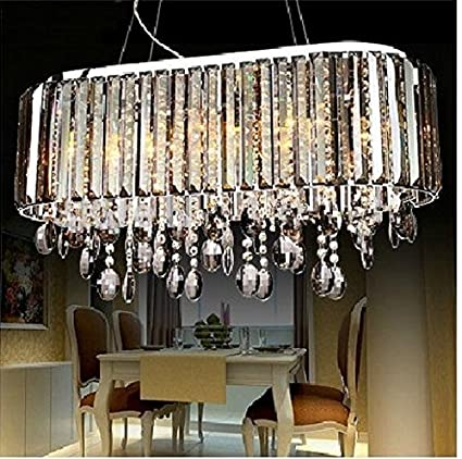 GOWE Luxury Crystal lámpara de techo lámpara de araña luz ...