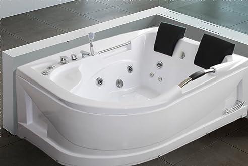 Whirlpool badewanne für 2 personen  LUXUS4HOME 2 Personen Whirlpool Badewanne
