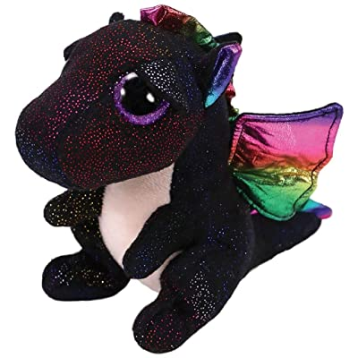Ty 37268 Anora, 24 cm Dragon Glitter Eyes, Beanie Boo's: Toys & Games