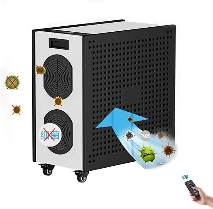 HEHAO La Seguridad Intense Pure Air 480W Purificador de Aire, 220V ...