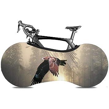 Cubierta De Bicicleta,Fundas De Ruedas con Estilo Sunset Sky Eagle ...