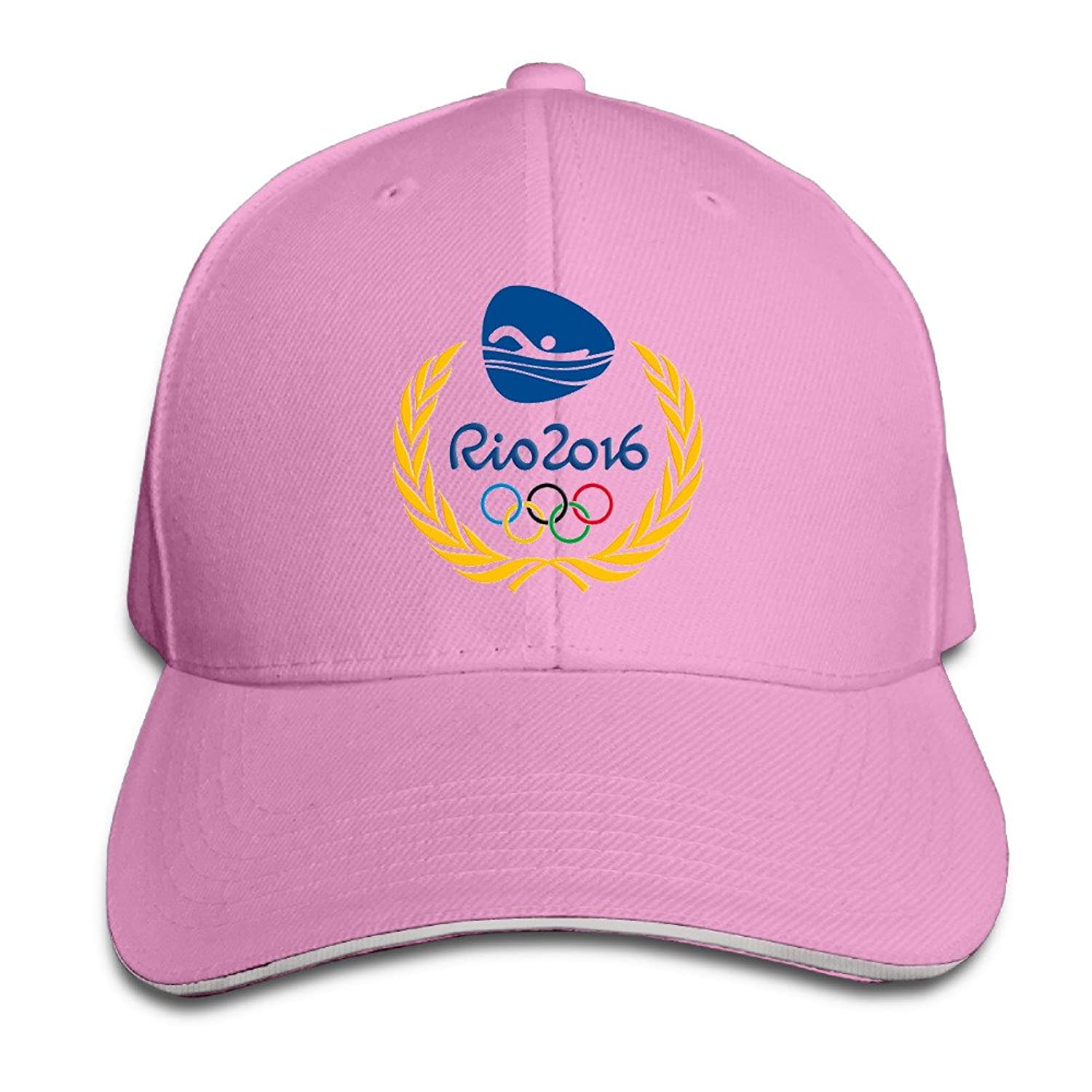 MYDT1 2016 Brazil Rio De Janeiro Olympic Games Swimming Outdoor Sandwich Peaked Caps Hats For Unisex