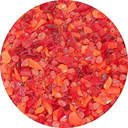 Hearts On Fire Coarse Frit Mix - 4oz - 96COE - Made From System 96 Glass