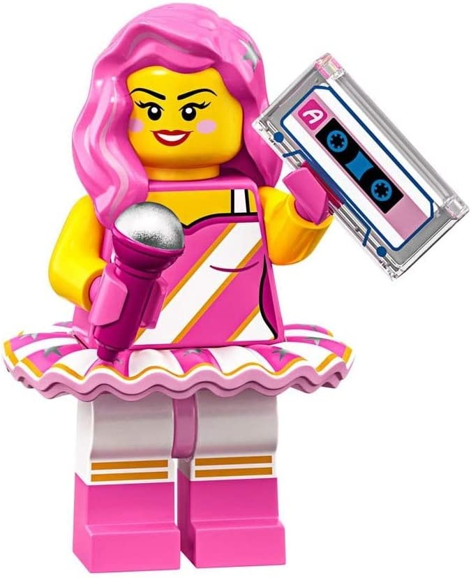 The LEGO Movie 2 Collectible MiniFigure - Candy Rapper (Sealed Pack)