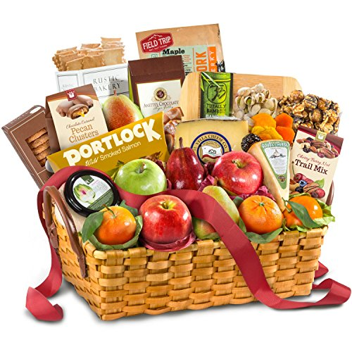 Golden State Fruit Bountiful Gourmet Collection Fruit Basket