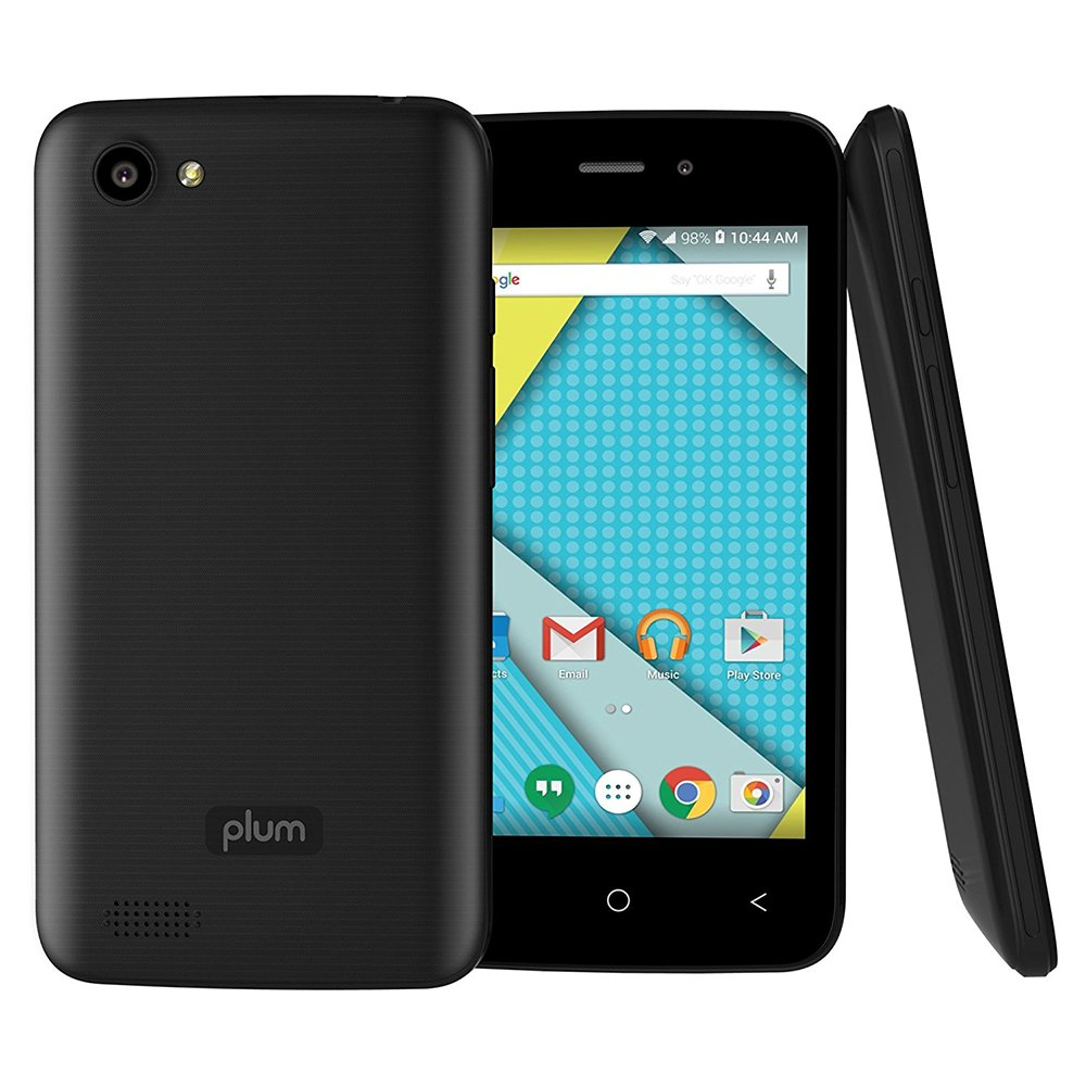 Plum Axe 4 Unlocked Smart Cell Phone 4G GSM 4'' Display Android 6.1 Quad Core 8GB Memory Dual Sim - Z407 Black by Plum (Image #5)