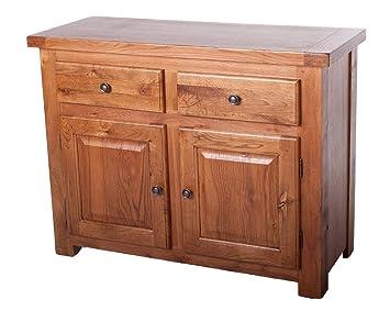 Sussex Eiche Rustikal Mobel Esszimmer Wohnzimmer Sideboard Amazon