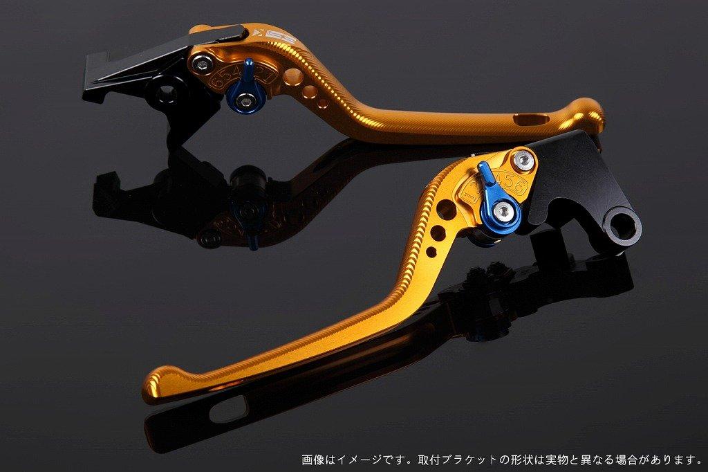 SSK アジャストレバー 3Dロング レバー本体カラー:ゴールド アジャスターカラー:ブルー NMAX LVEG032GD-BE B07MXFC68B