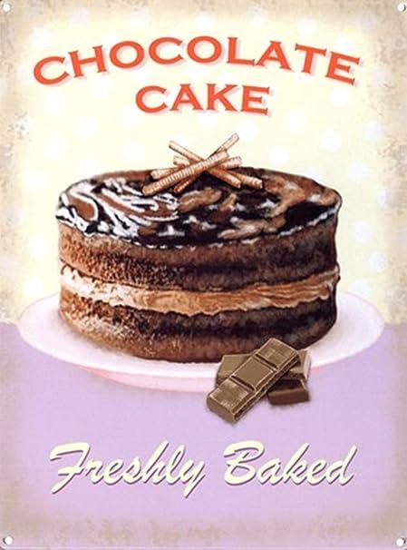 Taco Thursday Chocolate Cake Pintura de Hierro Cartel de ...