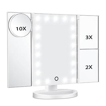 Amazoncom Magicfly Led Lighted Makeup Mirror 10x 3x 2x 1x