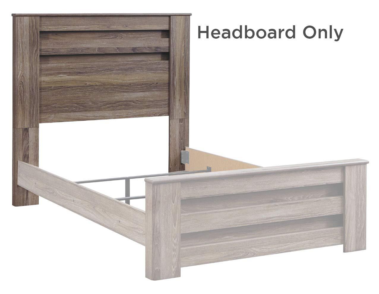 Signature Design by Ashley B248-87 Zelen Full Panel Headboard Warm Gray