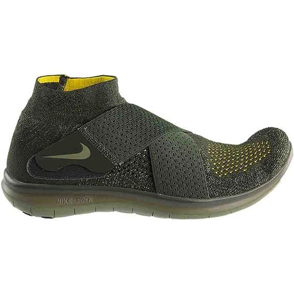 d9e1d4fdb1fc Nike Free RN Motion FK 2017 Flyknit Mens Running Shoes (Sequoia Green