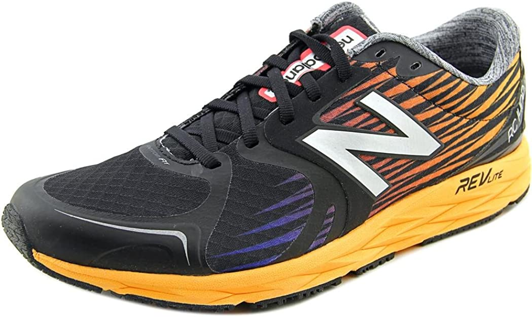 NEW BALANCE M 1400 D ol4 Black Naranja, Color Negro, Talla 49: Amazon.es: Zapatos y complementos