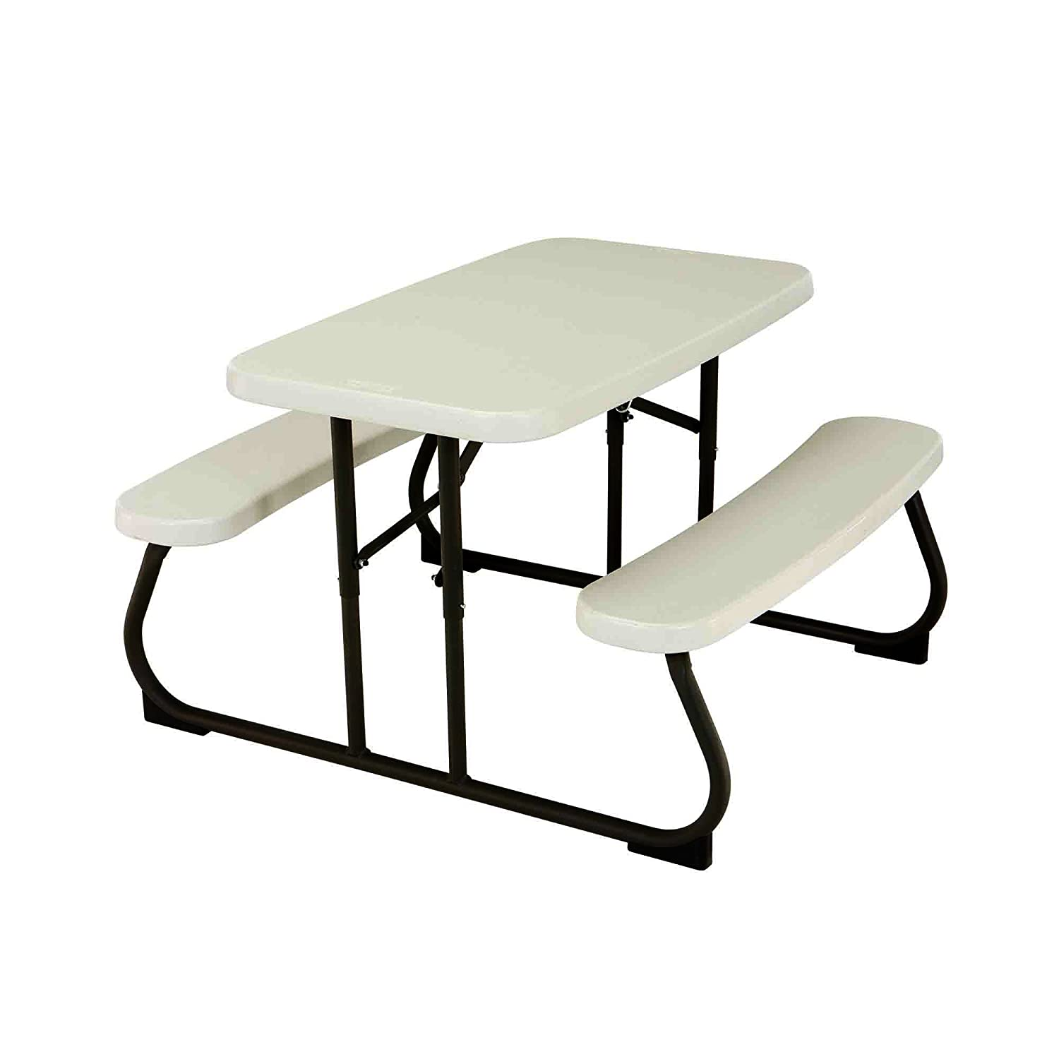Lifetime 2 7 ft 0 83 m Children s Folding Picnic Table Beige