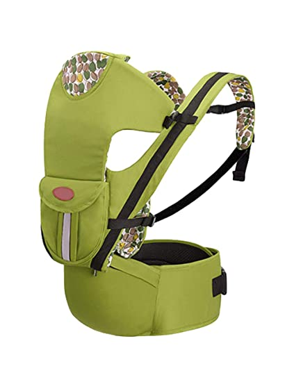 Mochila Portabebés Ergonómicas Coleccion 4-Posiciones de Porteo - Baby Carriers Portable Baby Hipseat Backpack