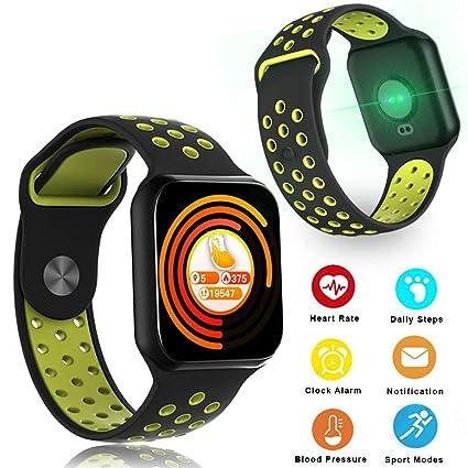 Indigi SmartWatch Bluetooth 4.0 Sport Modes visualización ...