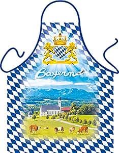 Diseño Delantal con Gratis Escrituras: Prealpes–hermosa de Baviera de Baviera
