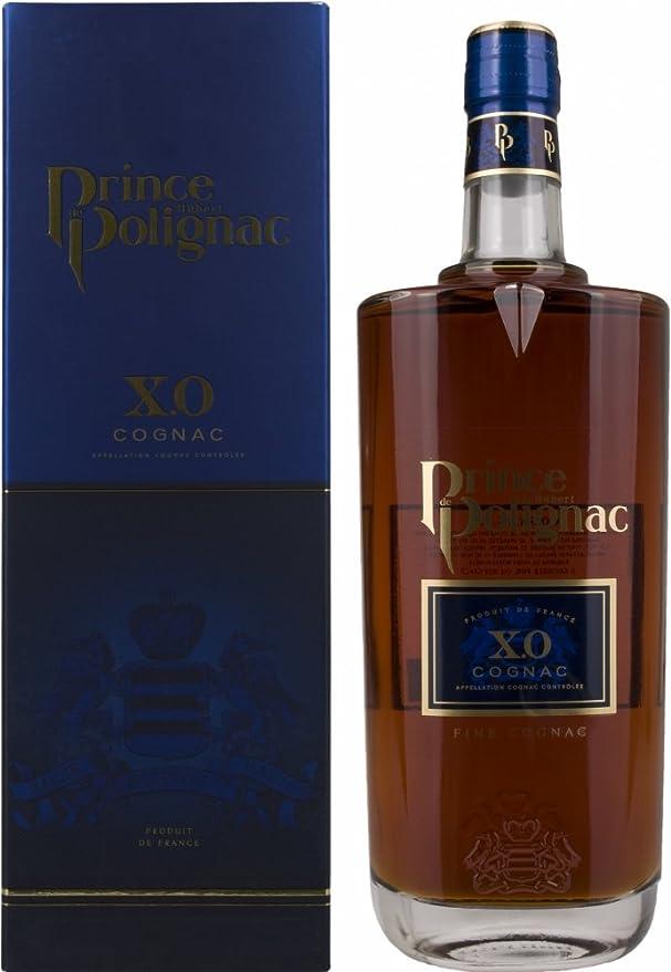Hubert de Polignac XO Coñac en Caja de Regalo - 700 ml