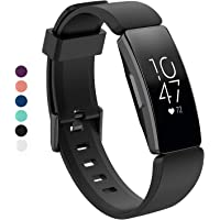 TERSELY Sport Band Strap for Fitbit Inspire/Inspire HR, Soft TPU Silicone Metal Buckle Replacement Bands Fitness Sports Bracelet Strap for Fitbit Inspire/HR Tracker