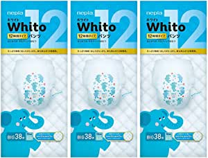 Nepia Whito Pants XL38 12H – (Pack of 3)