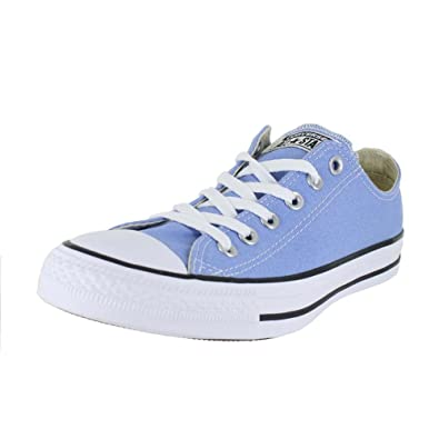 0aad07fe08 Converse Unisex Chuck Taylor All Star Low Top Pioneer Blue Sneakers - 8.5  B(M