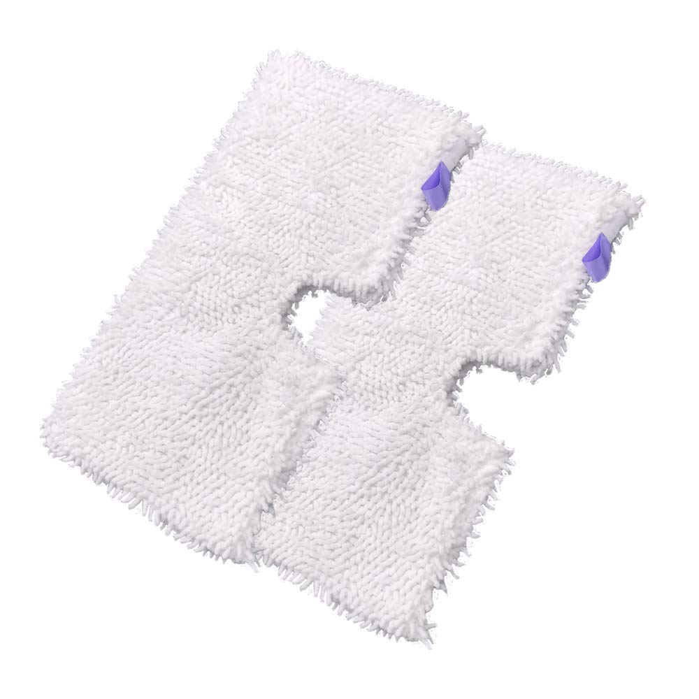 2Pcs Household Microfiber Replacement Cleaning Pads for Shark Steam Pocket Mops S3500 Series,S2901,S2902,S3455K,S3501,S3550,S3601,S3801,S3801CO,S3901,S4601,S4701,S4701D,SE450 (2)